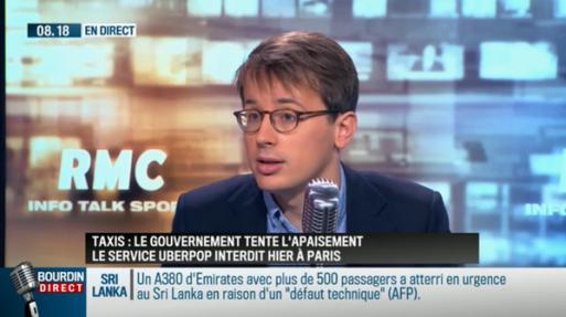 Michel Leclerc chez Jean Jacques Bourdin